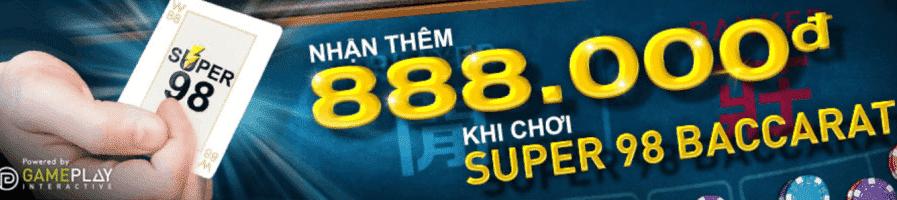 Nhận thêm 888k khi thắng thua liên tục
