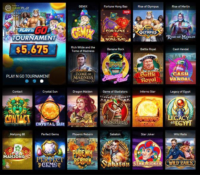 Các trò chơi Slots Go hay nhất là gì?