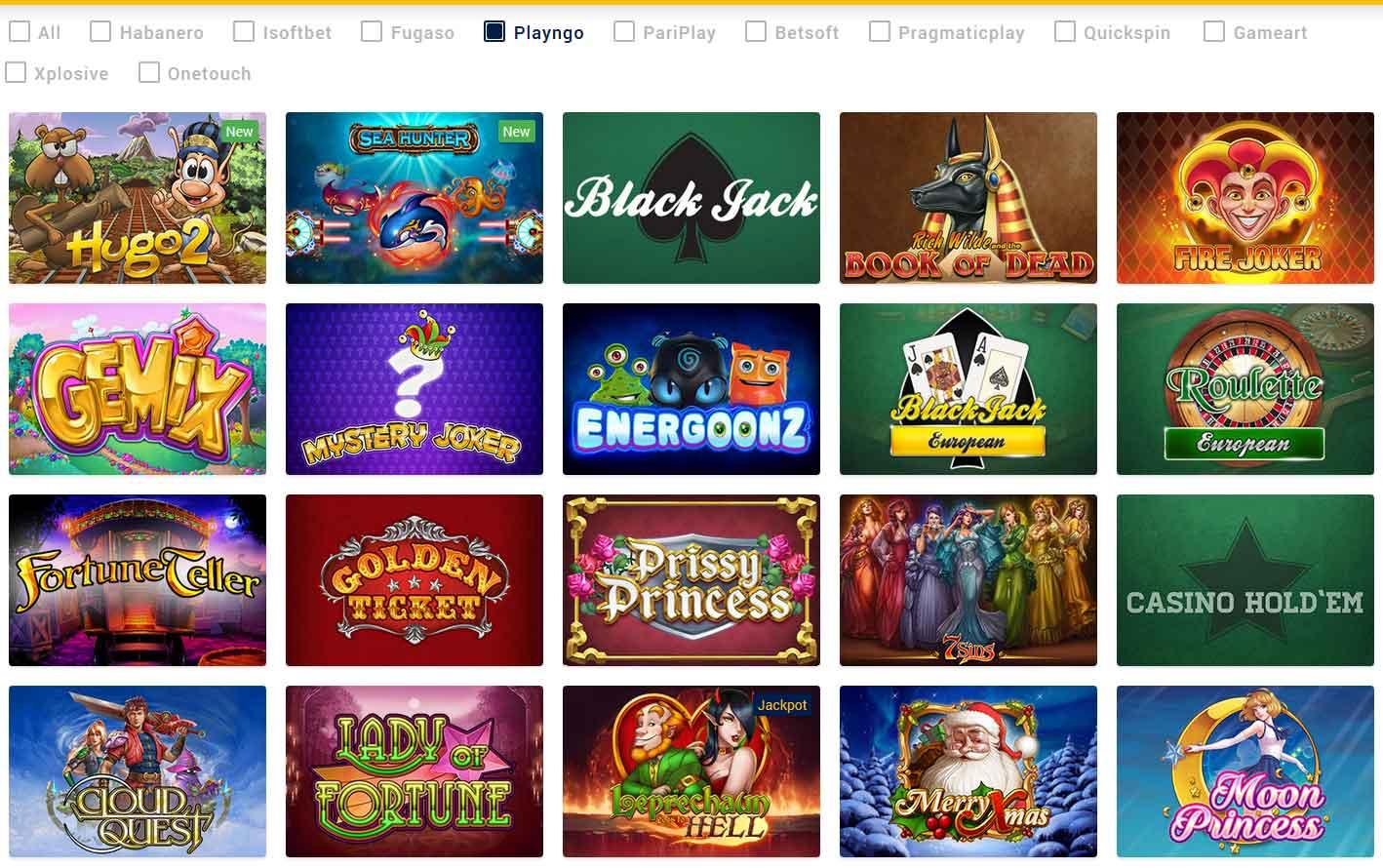 Các loại trò chơi Chơi trò chơi cờ vây và sòng bạc trực tuyến