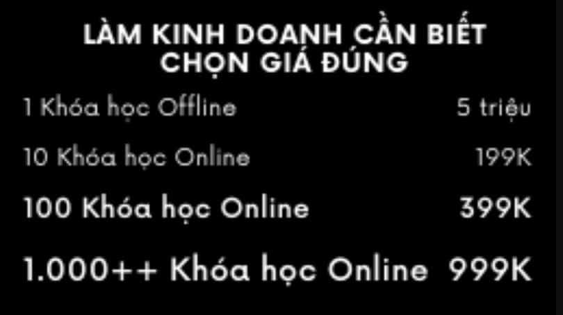 Không nên mua các khóa học kiếm tiền online