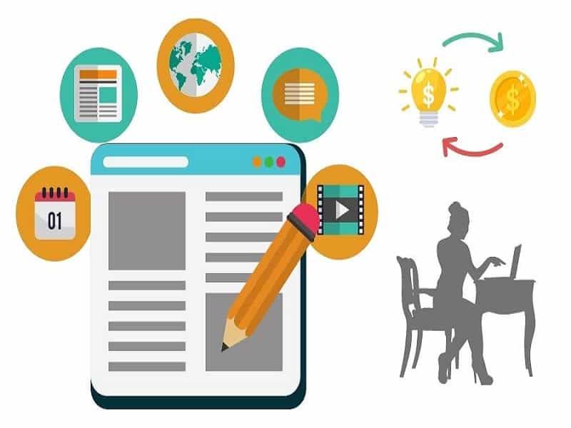 viết blog kiếm tiền online
